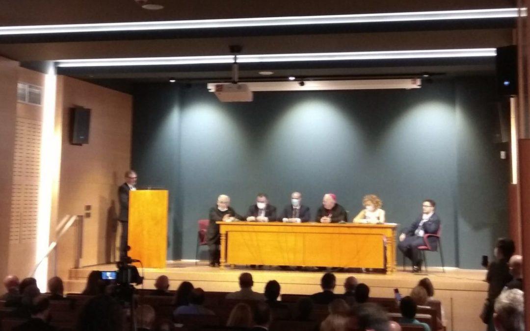 Acto de bendición de las obras del nuevo Museo Diocesano y de Semana Santa de León